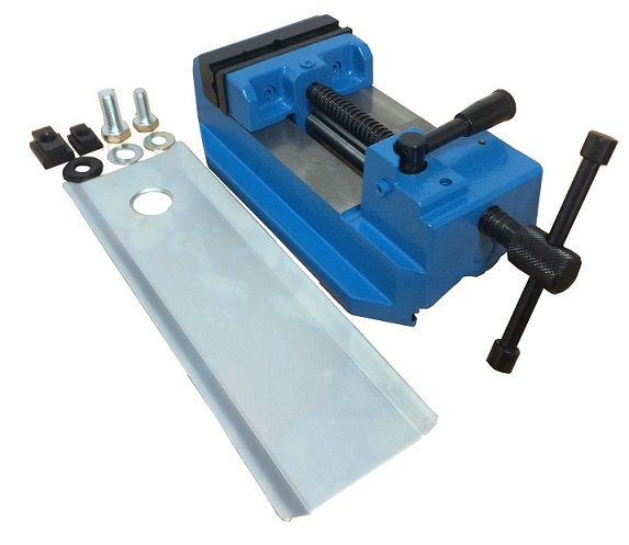 QUICK JAW VISE WITH GUIDE RAIL